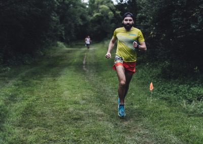 Chris DeNucci Out For a Run at the 2018 ESTRS Hyland 4 Miler - Photo Credit Fresh Tracks Media