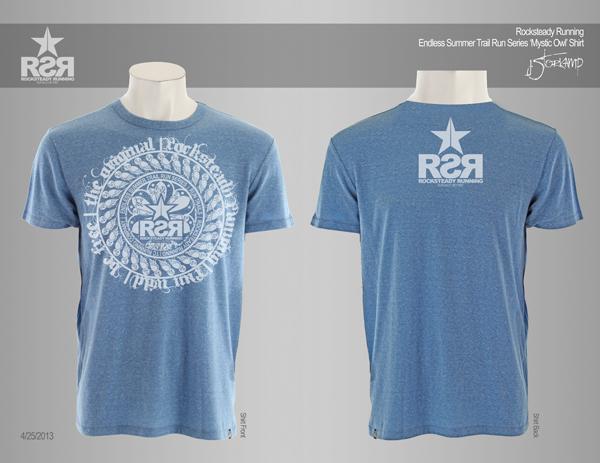 Endless Summer Trail Run Series | Rocksteady Running Tri-Blend T-Shirt