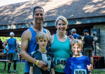 Family Running - Photo Credit Fresh Tracks Media