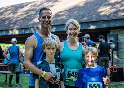 Family Running - Photo Credit Fresh Tracks Media