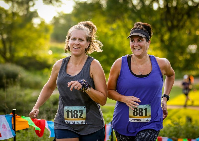 Friends that Run Together - Photo Credit Mike Wheeler