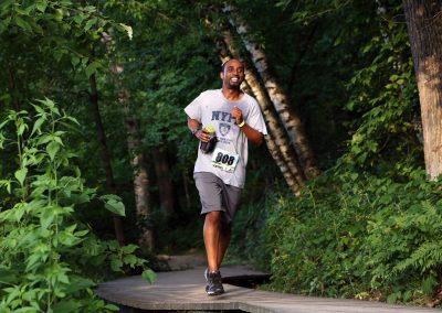 Happy Running - Photo Credit Andy Blenkush