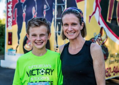 Mother Son Summer Run - Photo Credit Fresh Tracks Media