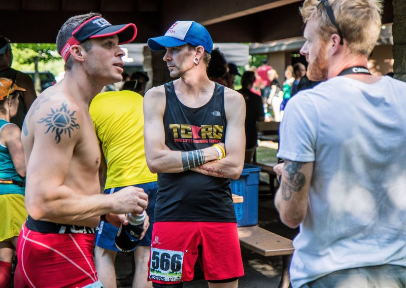 Pre-Race Talking Big - Photo Credit Fresh Tracks Media