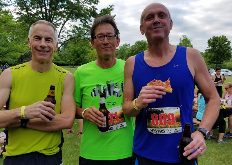 Running Beer Pizza All Good - Photo Credit John Storkamp